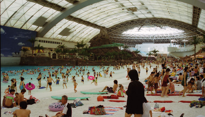 Playa Artificial en Japón - Seagaia Ocean Dome