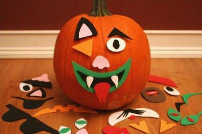 P salo de miedo con estas ideas para halloween - Decorar calabaza halloween ninos ...