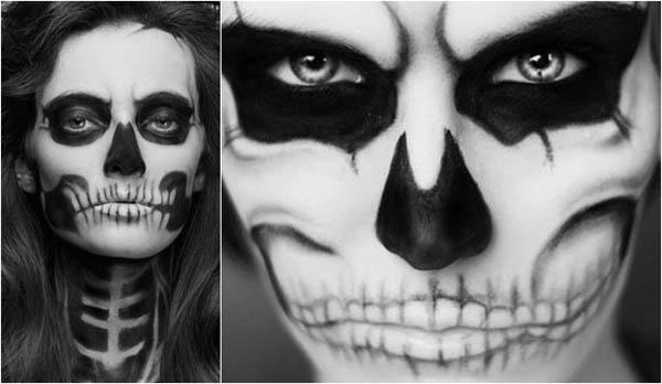 Chicas guapas con maquillaje para halloween - Como maquillarse de zombie ...