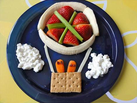 Quieres que tus hijos se coman todo del plato con - Cocina divertida para ninos ...