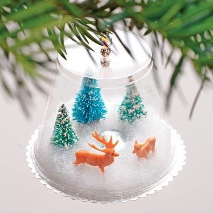 15 adornos de navidad que puedes hacer con tus hijos - Adornos navidad faciles ...