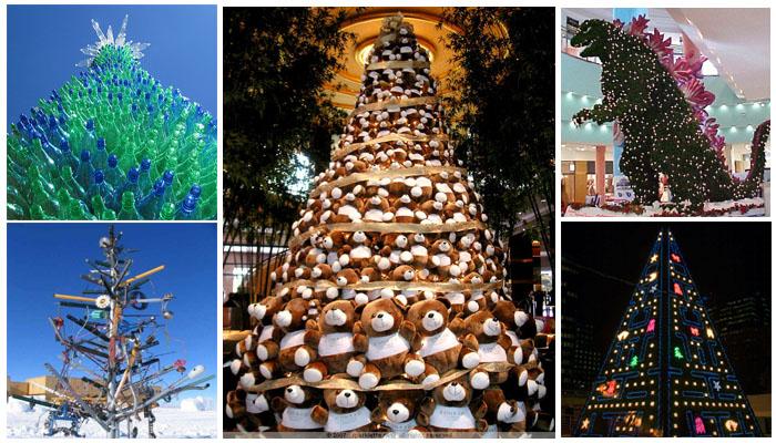 26 rboles de navidad diferentes - Arboles de navidad de diferentes materiales ...