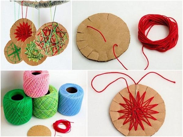 Manualidades de navidad faciles de hacer imagui - Adornos navidad faciles ...