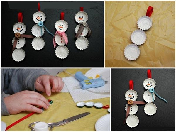 15 adornos de navidad que puedes hacer con tus hijos for Manualidades para hacer adornos de navidad