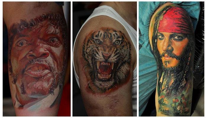 17 de los mejores tatuajes realistas del mundo for Los mejores tatuadores