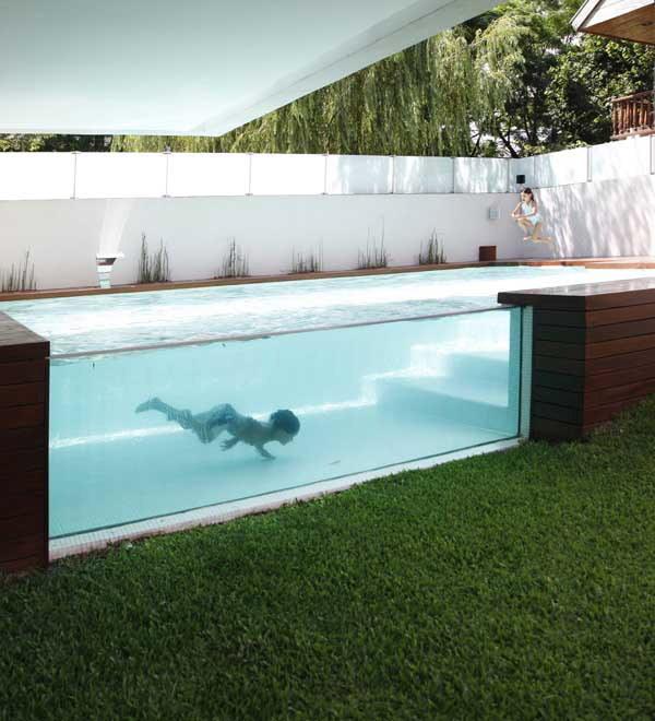 Los mejores patios traseros que puedas imaginar for Piscinas sobre suelo
