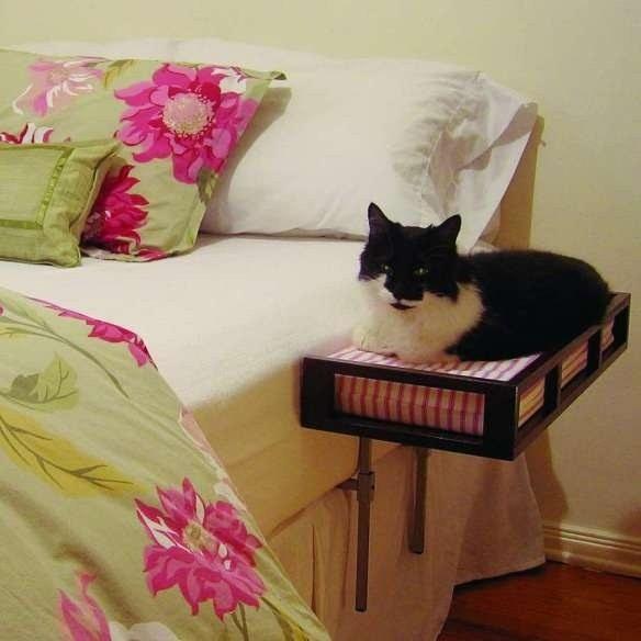 16 cosas para gatos que son sencillamente geniales for Cama supletoria