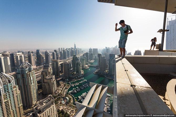 Dubai desde arriba