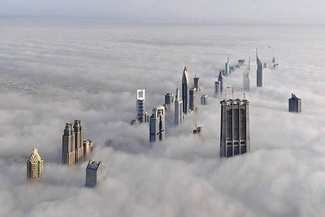 Dubai desde el cielo